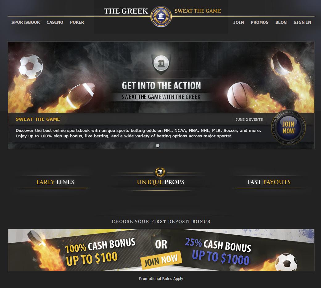 The Greek сайт