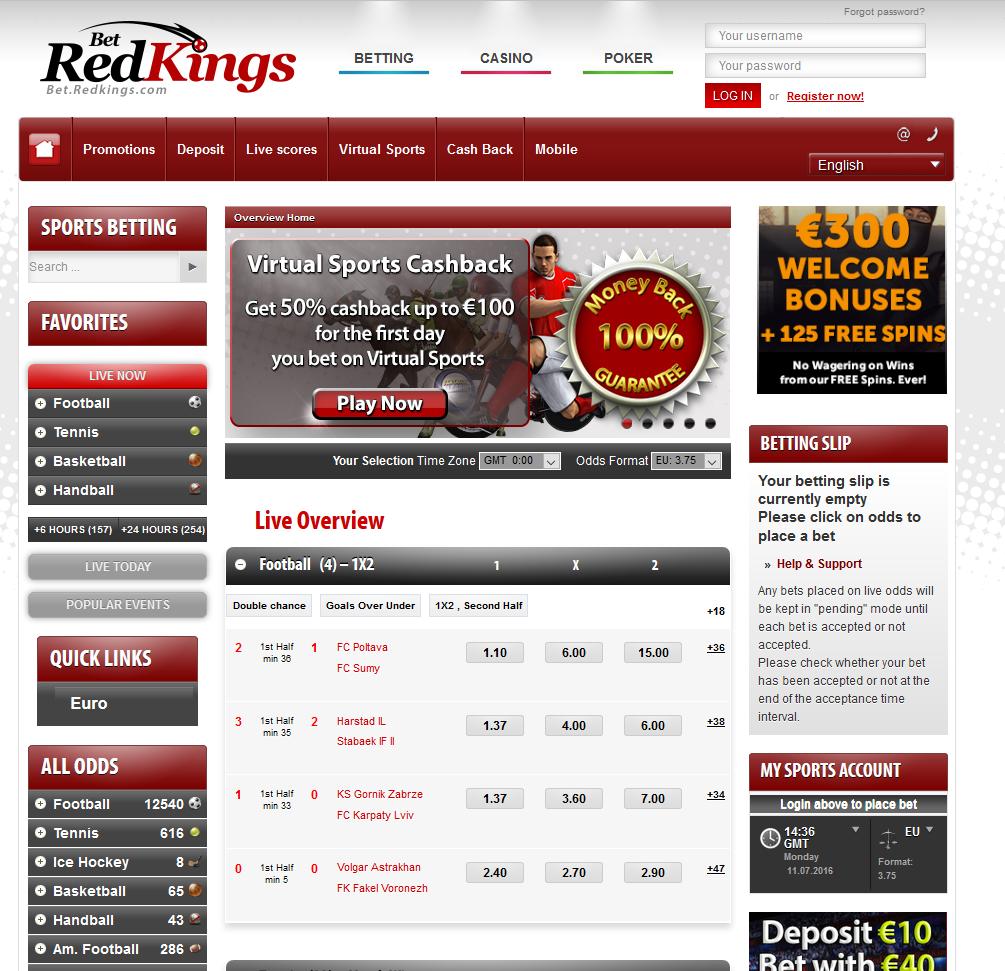 Bedredkings сайт